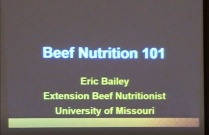 Beef Cattle Nutrition Course Part 1