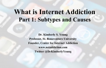 What is Internet AddictionPart 1: Subtypes and Causes