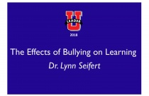 The Effects of Bullying on Learning