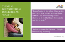 Webinar: A Qualitative Study of Social, Cultural, and Historical Influences on some African American Women's Infant-Feeding Practices