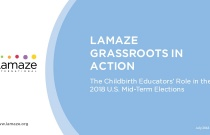 Webinar: Lamaze Grassroots in Action: The Childbirth Educators' Role in the 2018 U.S. Mid-Term Elections