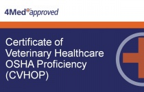 Certificate of Veterinary Healthcare OSHA Proficiency (CVHOP)