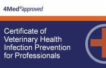 Certificate of Veterinary Health Infection Prevention for Professionals