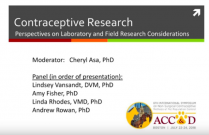 ACC&D's 6th International Symposium: Contraceptive Research - a laboratory and clinical perspective
