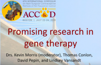 ACC&D's 6th International Symposium: Promising research in gene therapy
