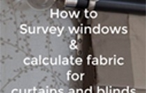 How to Survey Windows and Calculate Fabric