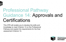 Pathway Guidance 14 - Approvals & Certifications