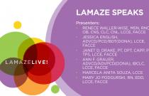 LamazeLIVE2019: Lamaze Speaks
