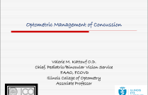Optometric Management of Concussion