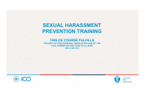 Sexual Harassment Prevention Training for Illinois Optometrists