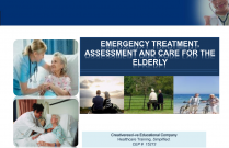 Emergency Treatment: Assessment and Care for the Elderly