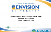 Driving with a Visual Impairment: Past, Present and Future