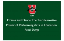 Drama and Dance:The Transformative Power of Performing Arts in Education