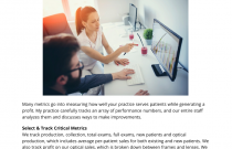 Practice Benchmarking: Which Metrics to Measure & How to Do It