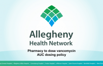 JH/CH-IP-RPh-Pharmacy to dose vancomycin: AUC protocol-8.2020