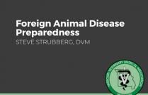 Foreign Animal Disease Preparedness