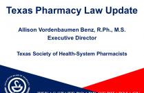 Texas Pharmacy Law Update-TECHNICIAN