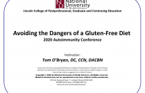 Avoiding the Dangers of a Gluten-Free Diet