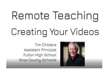Creating Videos for Online Instruction