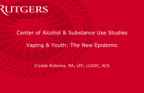 Vaping & Youth: The New Epidemic
