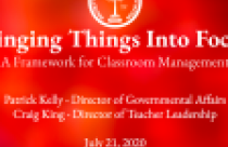 Bringing Things Into Focus: A Framework for Classroom Management