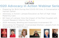 2020 Advocacy in Action Webinar Series