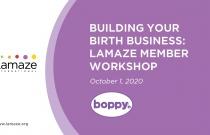 Workshop: Building Your Birth Business