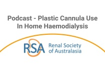 Plastic Cannula Use in Home Haemodialysis - Podcast