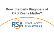 Does the Early Diagnosis of CKD Really Matter? - Webinar
