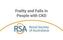 Frailty and Falls in People with CKD - Webinar