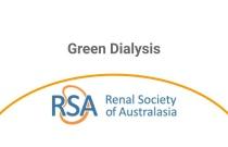 Green Dialysis - Webinar