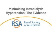 Minimising Intradialytic Hypotension: The Evidence - Webinar