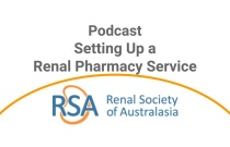 Setting Up a Renal Pharmacy Service - Podcast