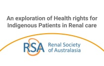 An Exploration of Health Rights for Indigenous Patients in Renal Care - Webinar