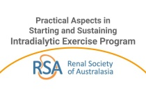 Practical Aspects in Starting and Sustaining an Intradialytic Exercise Program - Webinar)