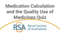 Medication Calculation and the Quality Use of Medicines Quiz