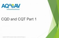CQD and CQT Part 1
