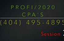 #2 ProFi/2020 CPA's Consulting