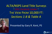 ALTA/NSPS 2021 Standards – An Overview