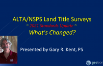 ALTA/NSPS 2021 Standards – What's Changed