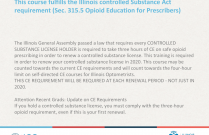 Pain Management and Safe Prescribing of Opioids in an Optometric Setting