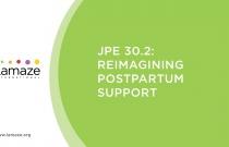 JPE 30.2: Reimagining Postpartum Support