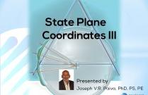 State Plane Coordinates III