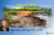 "The ""I"" in ""NFIP"": The Role of Insurance in Floodplain Management"