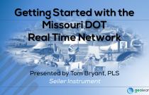 Missouri DOT Real Time Network (RTN)