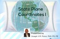 State Plane Coordinates I
