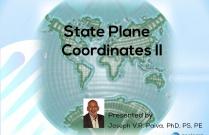 State Plane Coordinates II
