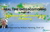 Real Time GNSS Positioning 3 – Single Base vs. Real Time Network Positioning