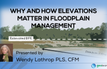 Why and How Elevations Matter in Floodplain Management