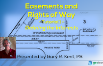 Easements and Rights of Way 1 – Defining the Interests